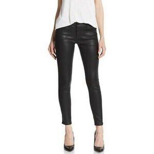 Joe's Jeans The Vixen Ankle black coated jeans 30
